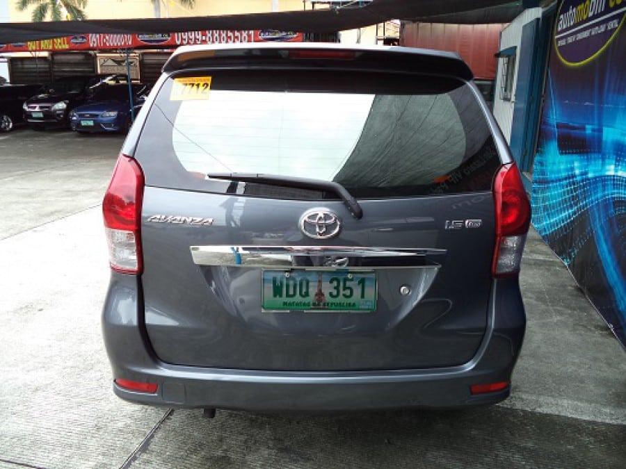 2013 Toyota Avanza - Rear View