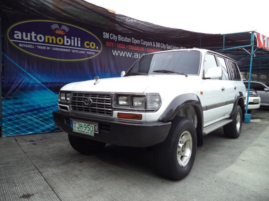 1992 Toyota Land Cruiser - Front View