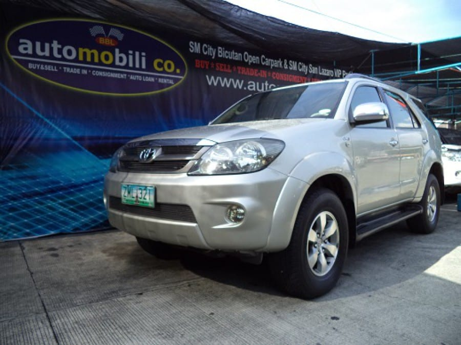 2008 Toyota Fortuner - Front View