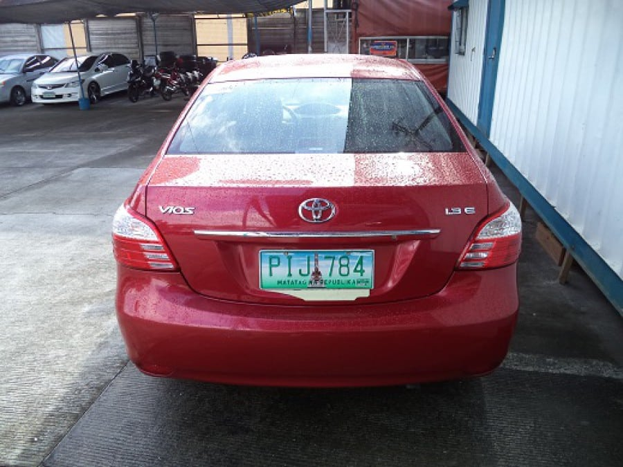 2011 Toyota Vios - Rear View