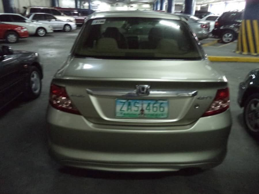 2005 Honda City - Rear View