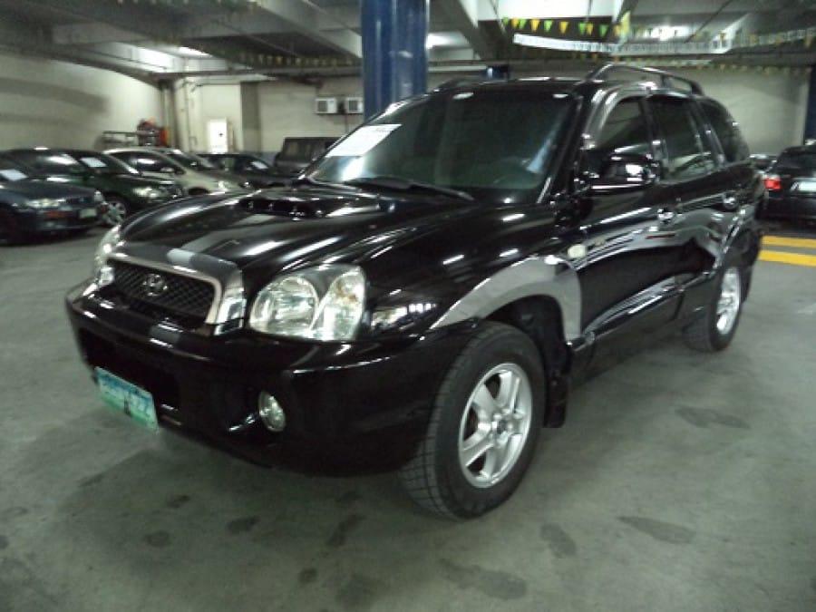 2001 Hyundai Santa Fe - Front View