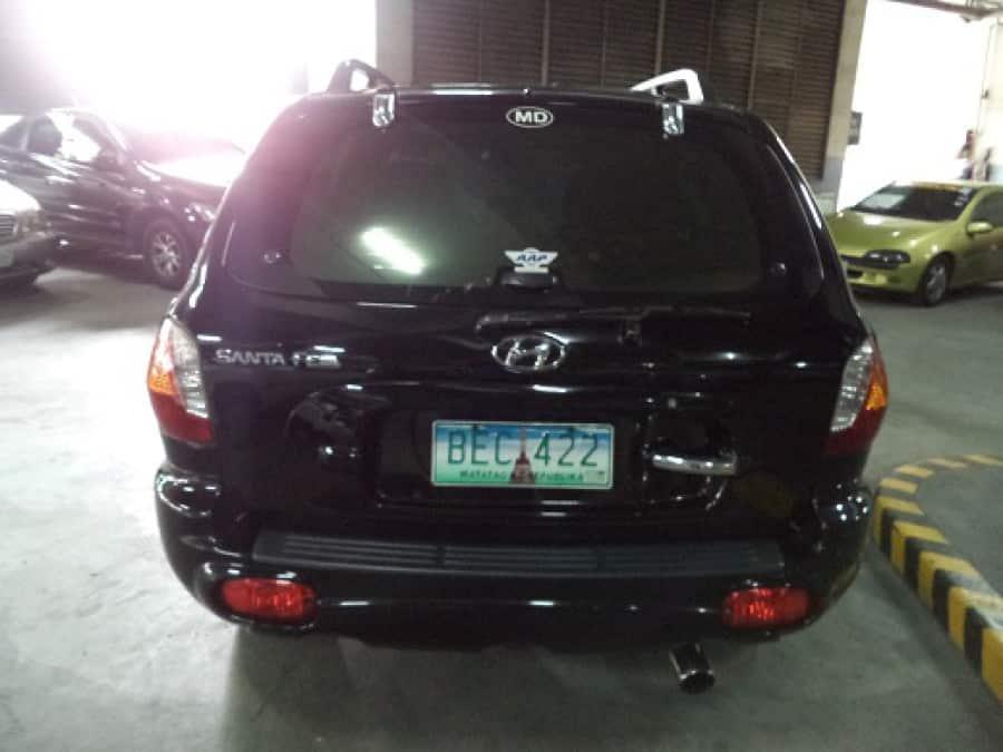 2001 Hyundai Santa Fe - Rear View