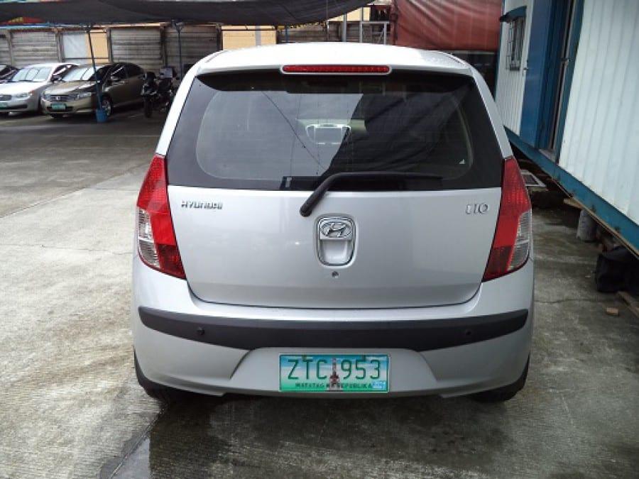 2008 Hyundai Getz - Rear View