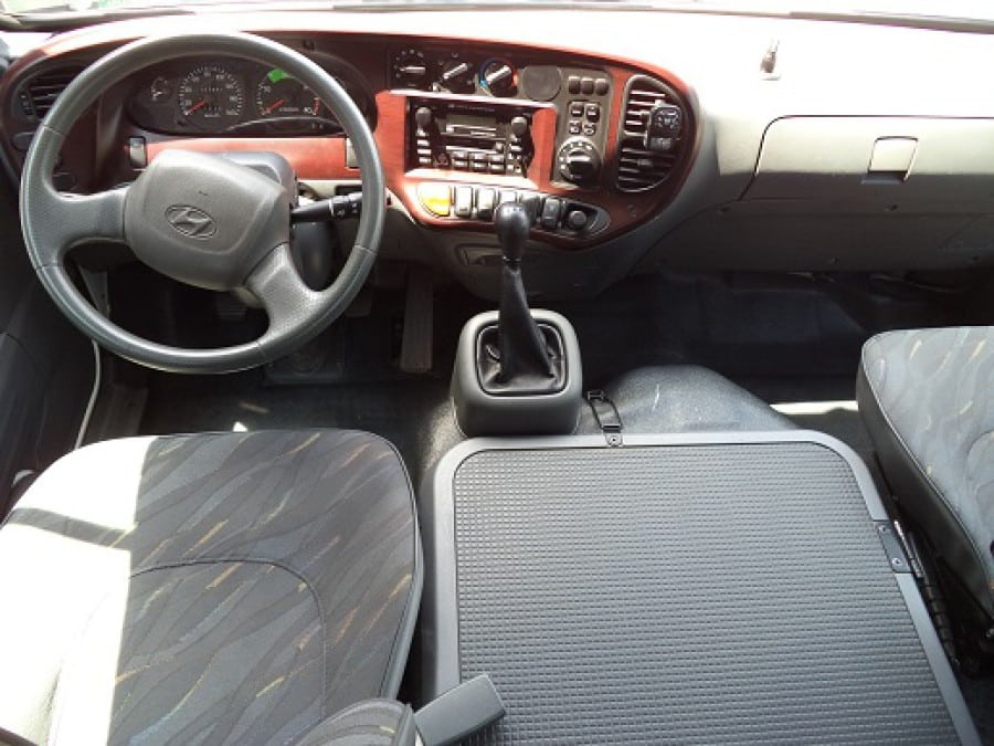 2010 Hyundai Mini Bus - Interior Front View