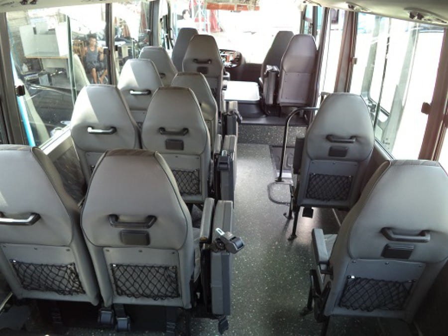 2010 Hyundai Mini Bus - Interior Rear View
