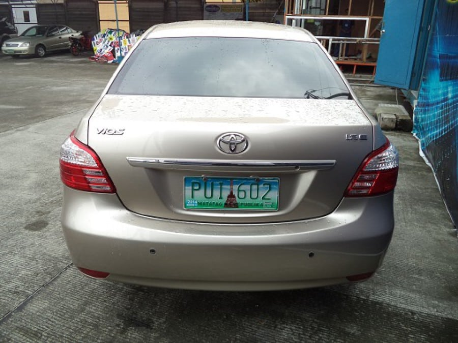 2010 Toyota Vios - Rear View