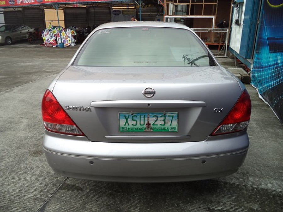 2004 Nissan Sentra - Rear View