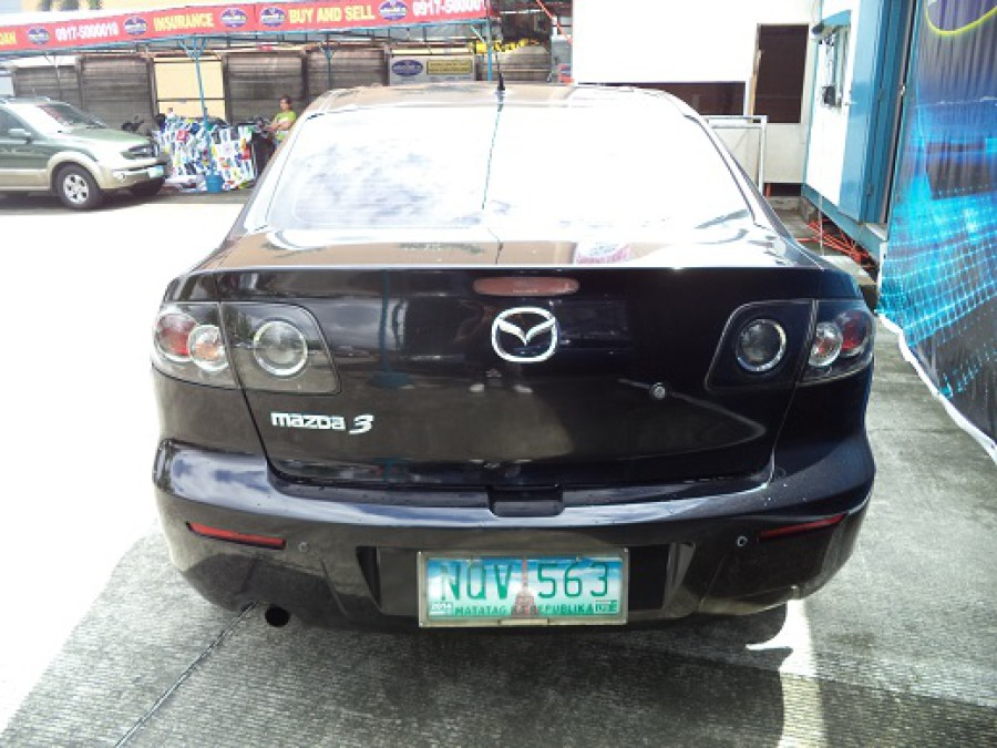 2010 Mazda 3 - Rear View