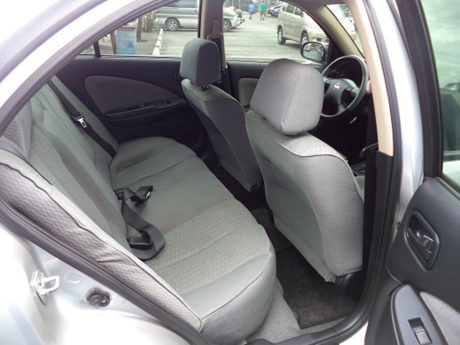 2009 Nissan Sentra - Interior Rear View