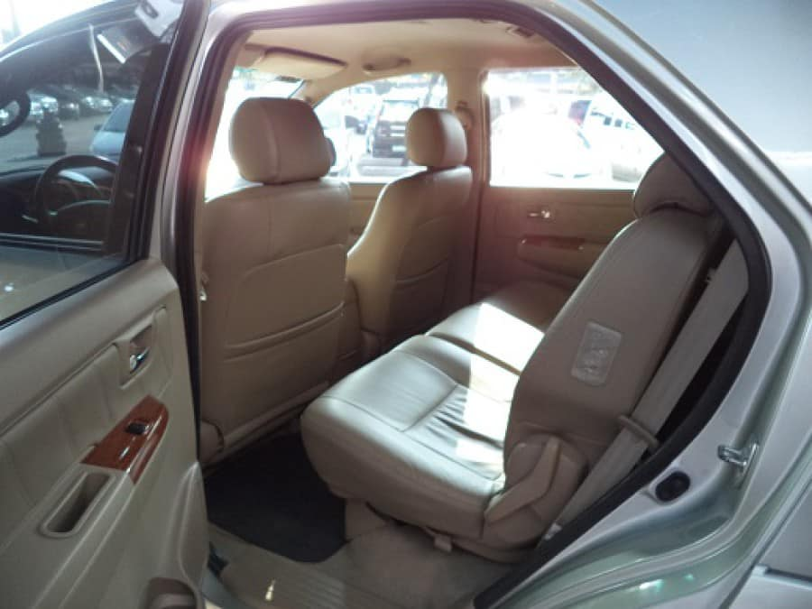 2009 Toyota Fortuner - Interior Rear View