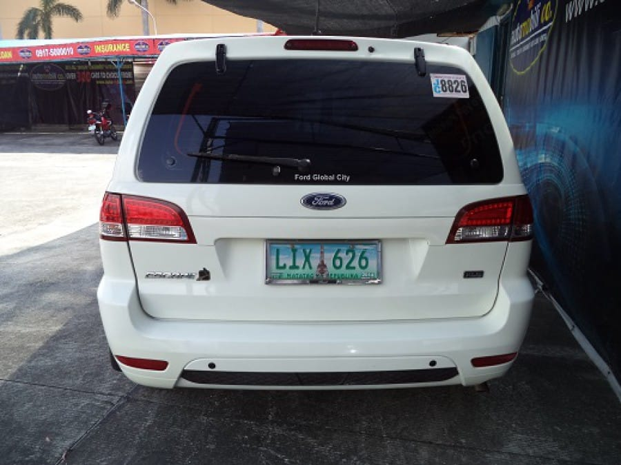 2010 Ford Escape - Rear View