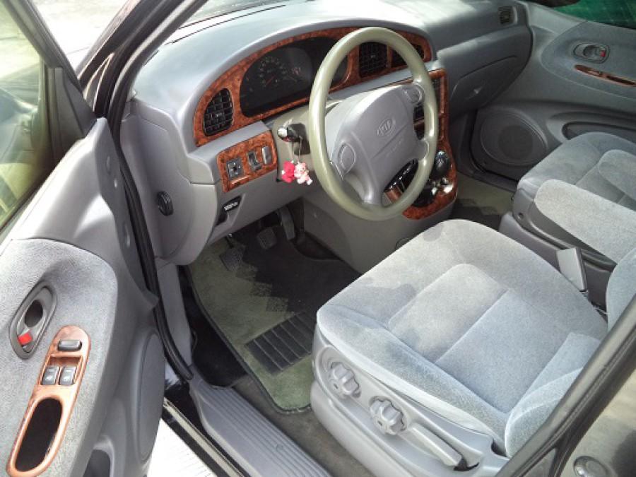 2000 Kia Carnival - Interior Front View