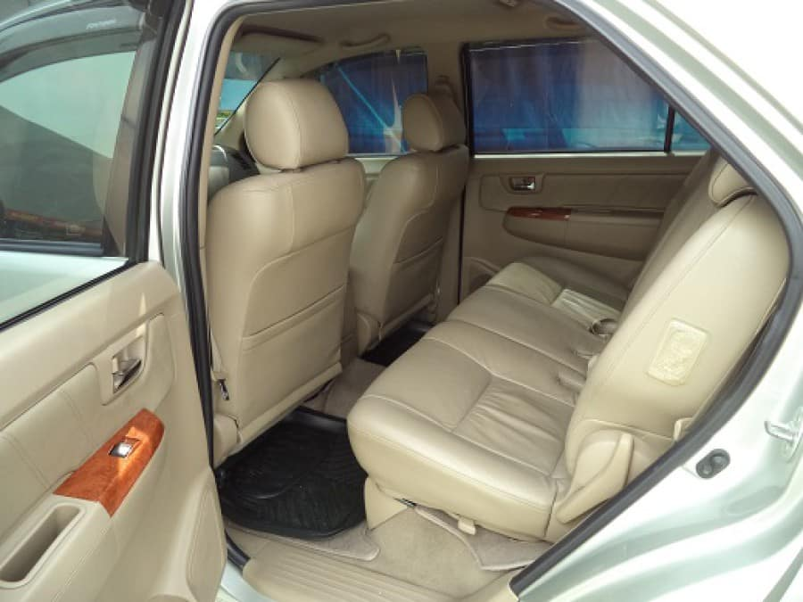 2010 Toyota Fortuner - Interior Rear View