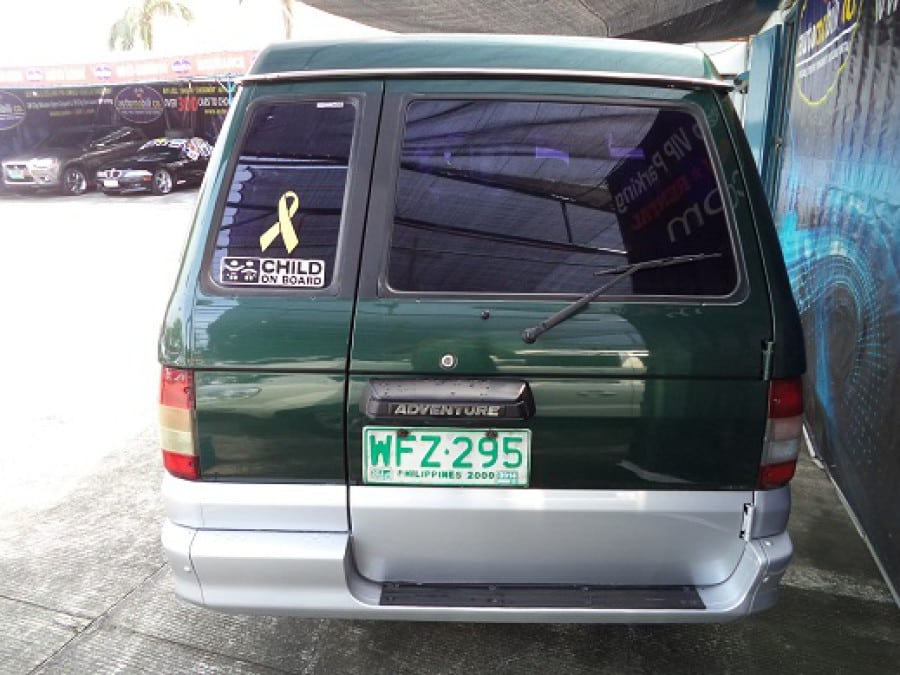 1999 Mitsubishi Adventure - Rear View