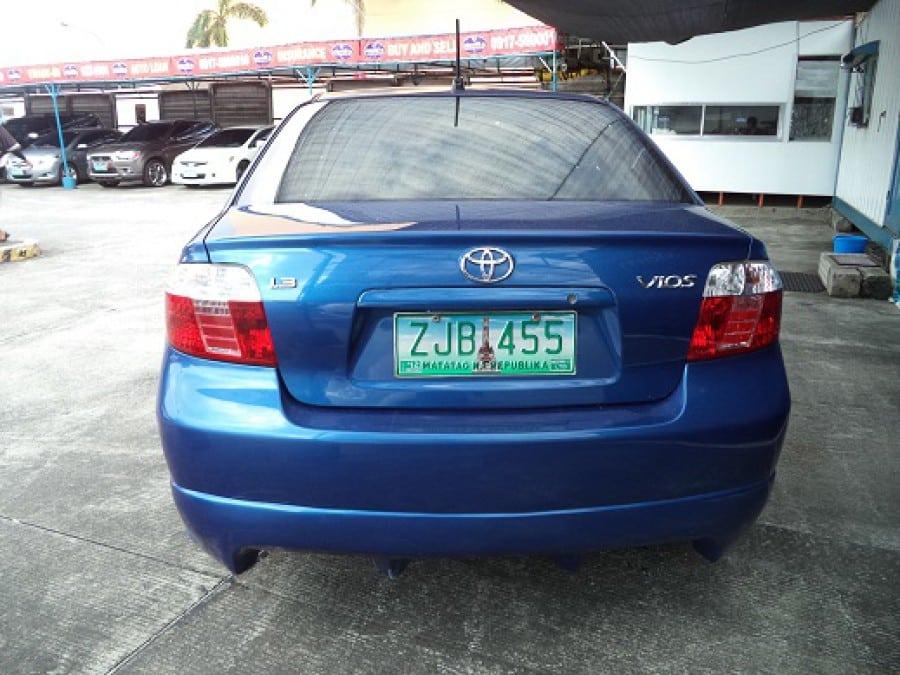 2007 Toyota Vios - Rear View