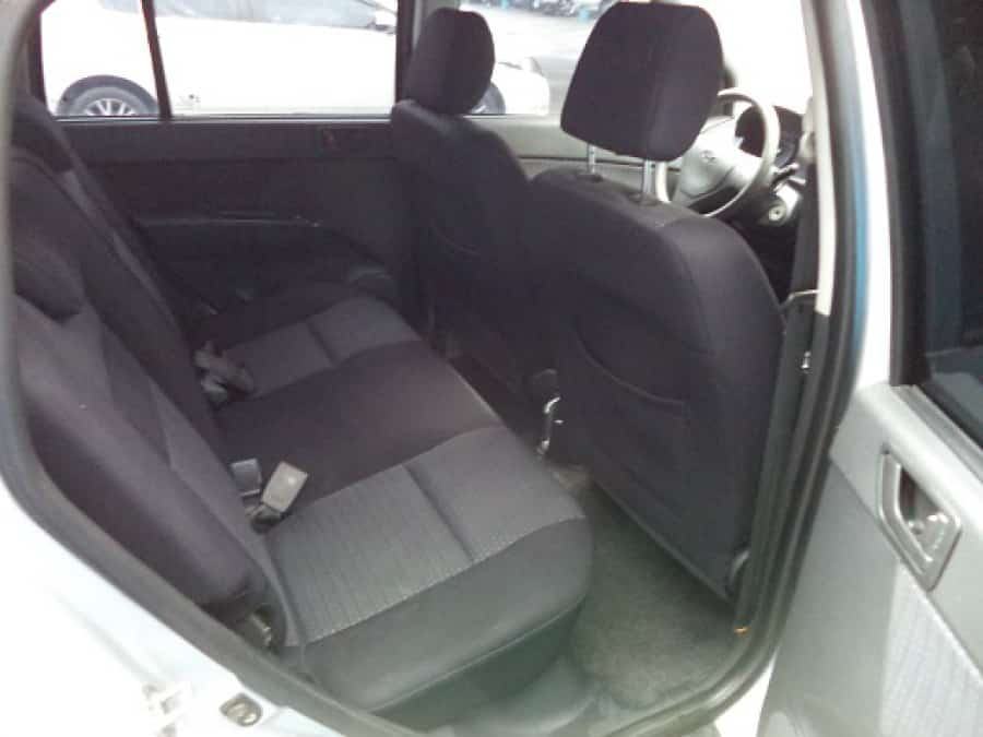 2008 Hyundai Getz - Interior Rear View