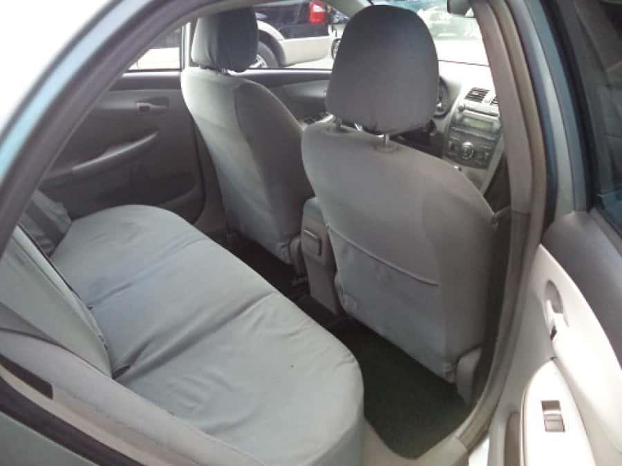 2009 Toyota Altis - Interior Rear View