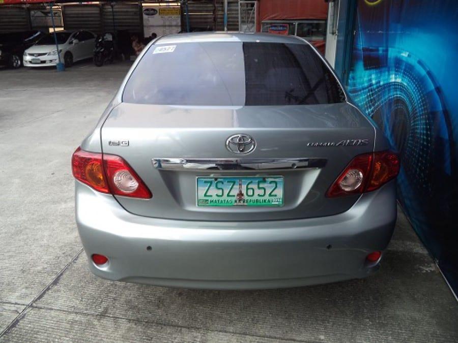 2009 Toyota Altis - Rear View