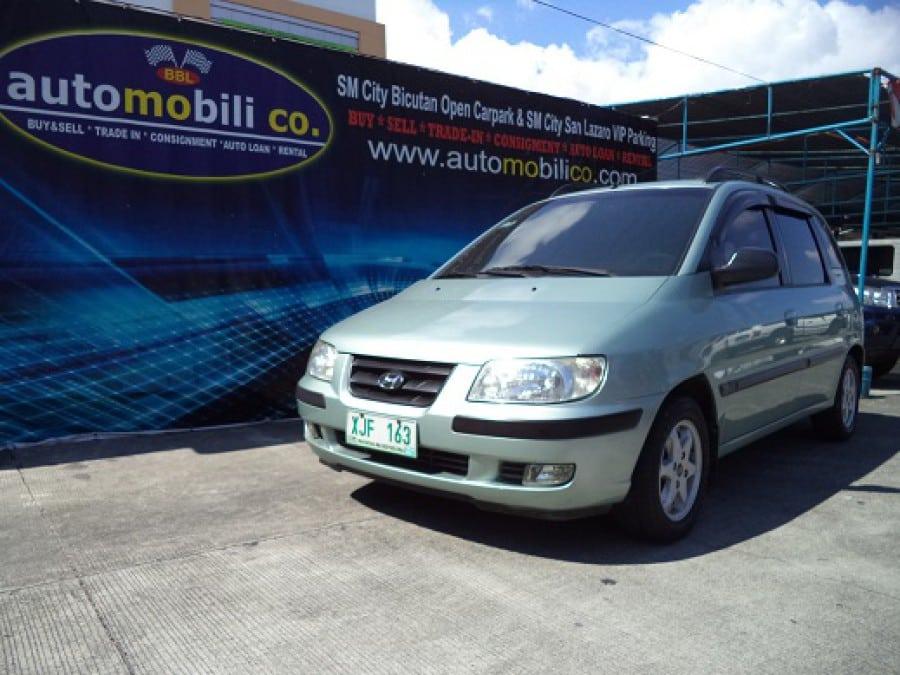 2003 Hyundai Matrix - Front View