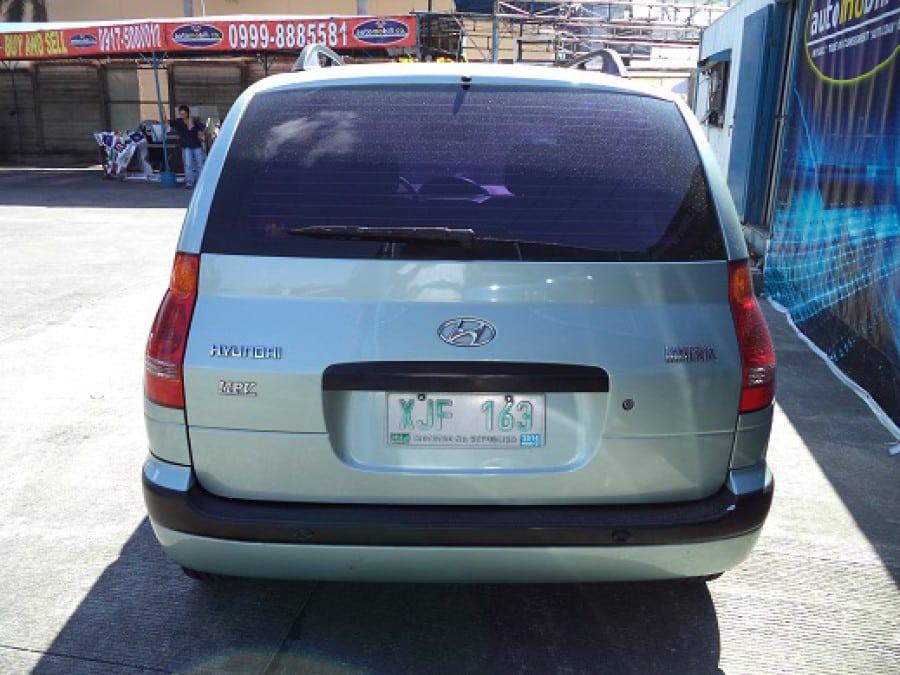 2003 Hyundai Matrix - Rear View