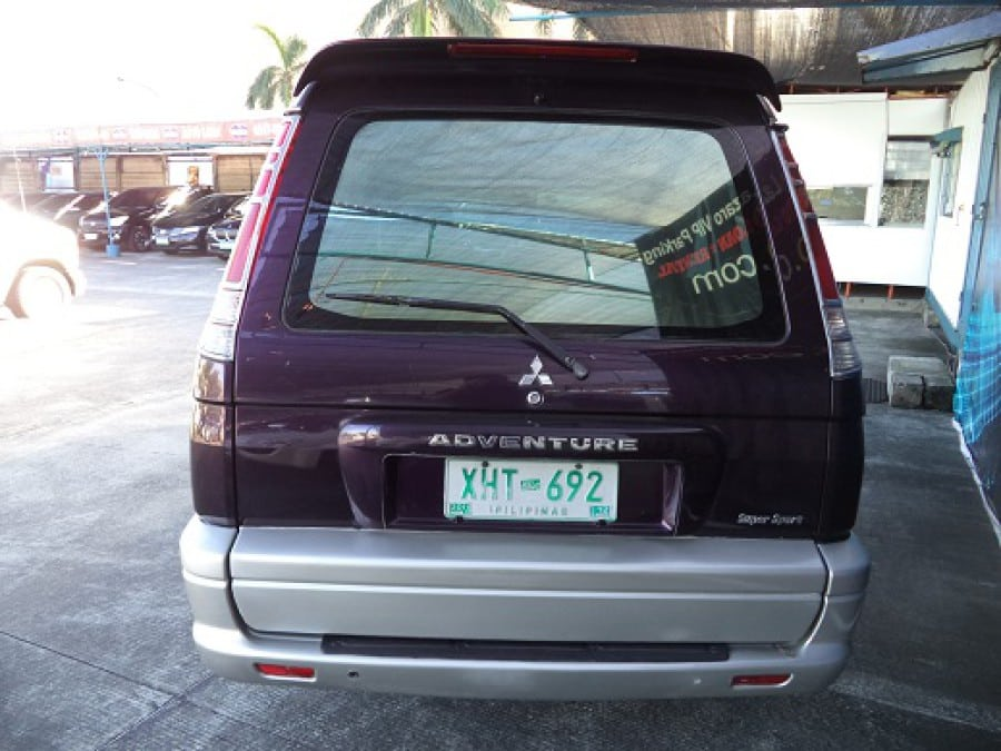 2003 Mitsubishi Adventure - Rear View