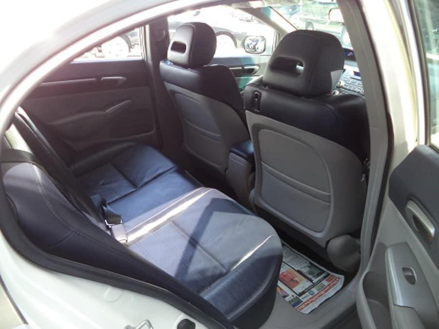 2011 Honda Civic - Interior Rear View