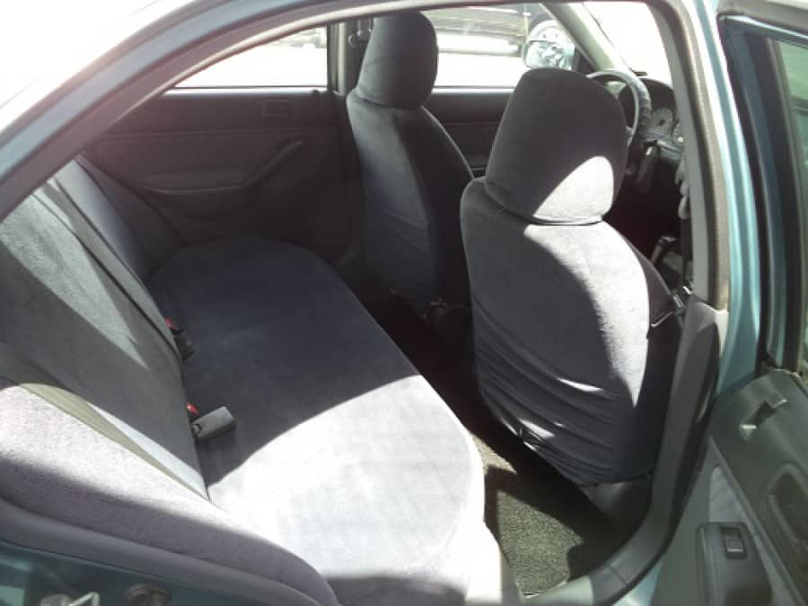 2001 Honda Civic - Interior Rear View