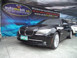 2010 BMW 750 - Front View