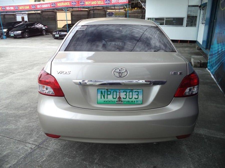 2009 Toyota Vios - Rear View