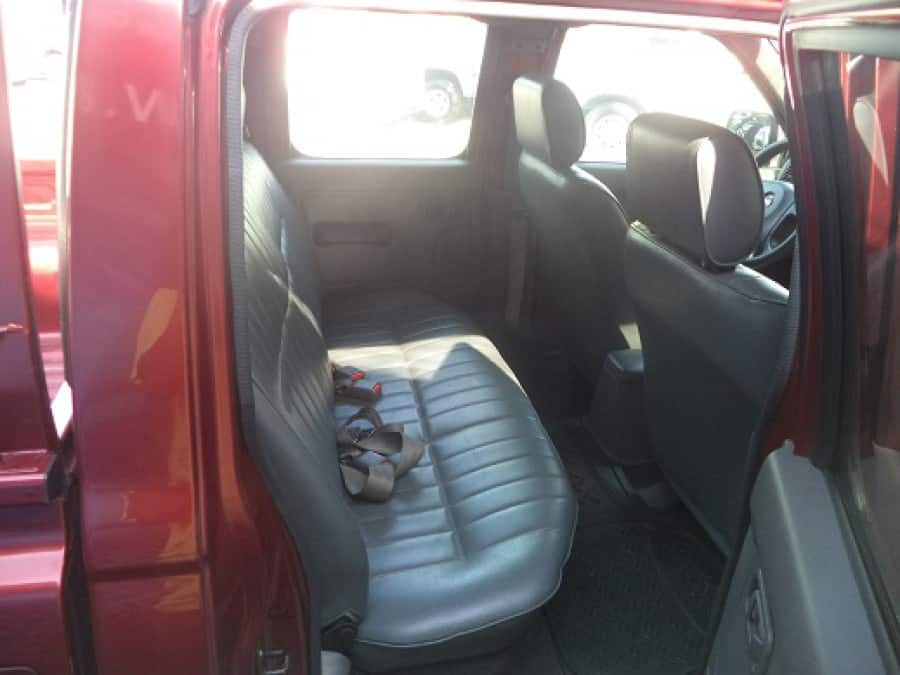 2006 Nissan Frontier - Interior Rear View
