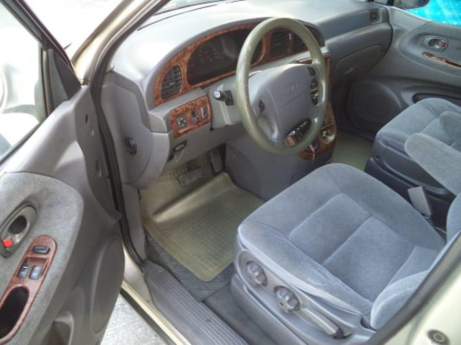 2001 Kia Carnival - Interior Front View