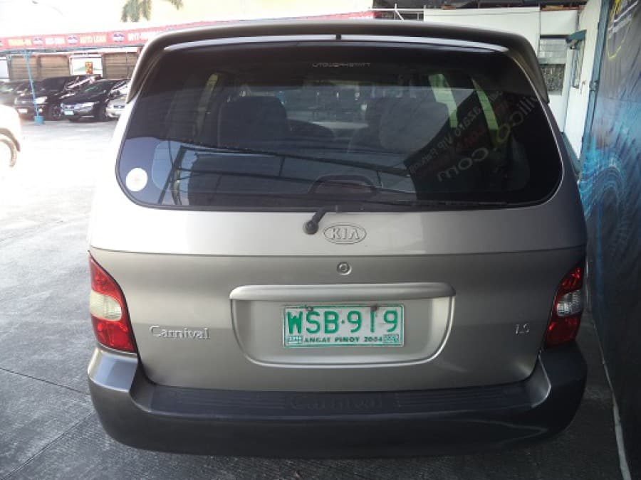 2001 Kia Carnival - Rear View