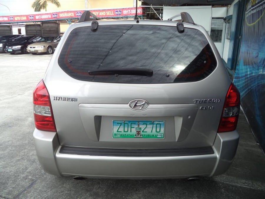 2006 Hyundai Tucson - Rear View