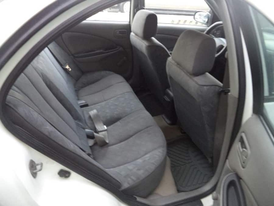 2003 Nissan Sentra - Interior Rear View
