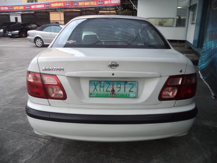 2003 Nissan Sentra - Rear View