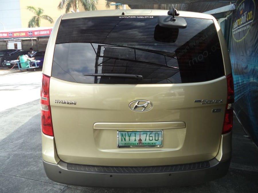2009 Hyundai Starex - Rear View