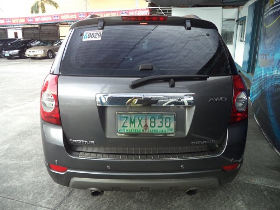 2008 Chevrolet Captiva - Rear View