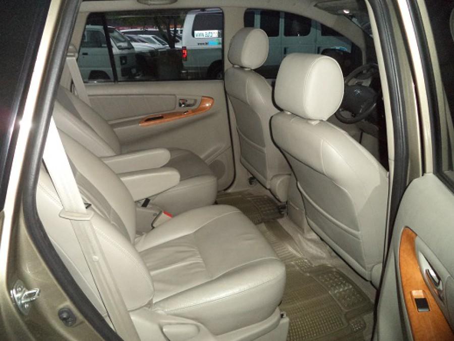 2011 Toyota Innova V - Interior Rear View