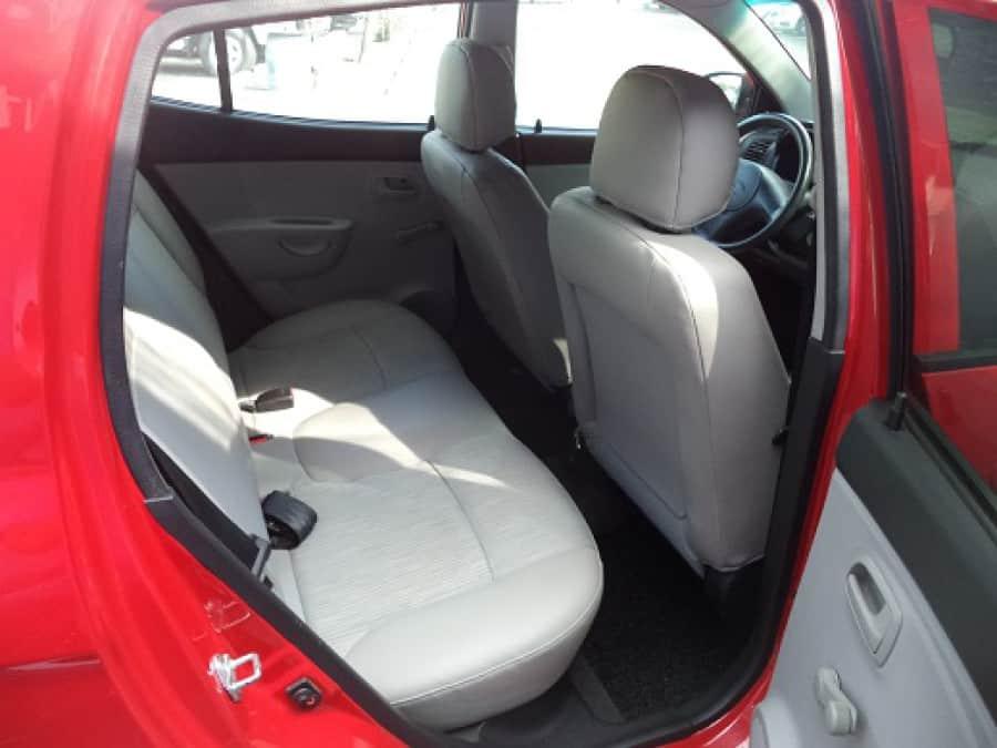 2008 Kia Picanto - Interior Rear View