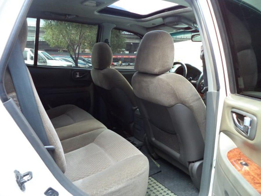2002 Hyundai Santa Fe - Interior Rear View