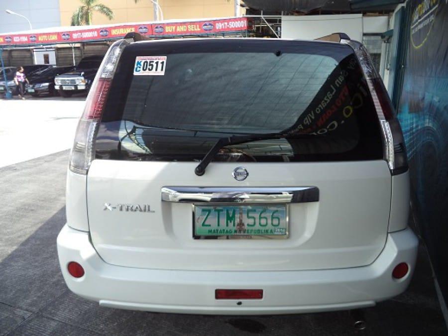 2009 Nissan X-Trail - Rear View