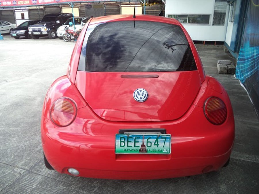 2000 Volkswagen Beetle - Rear View