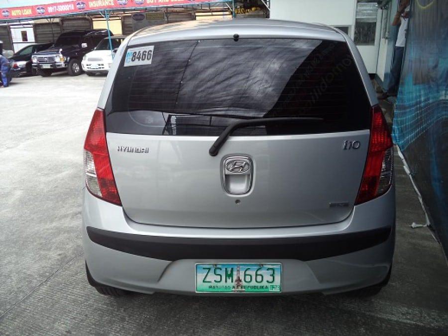 2009 Hyundai Getz - Rear View
