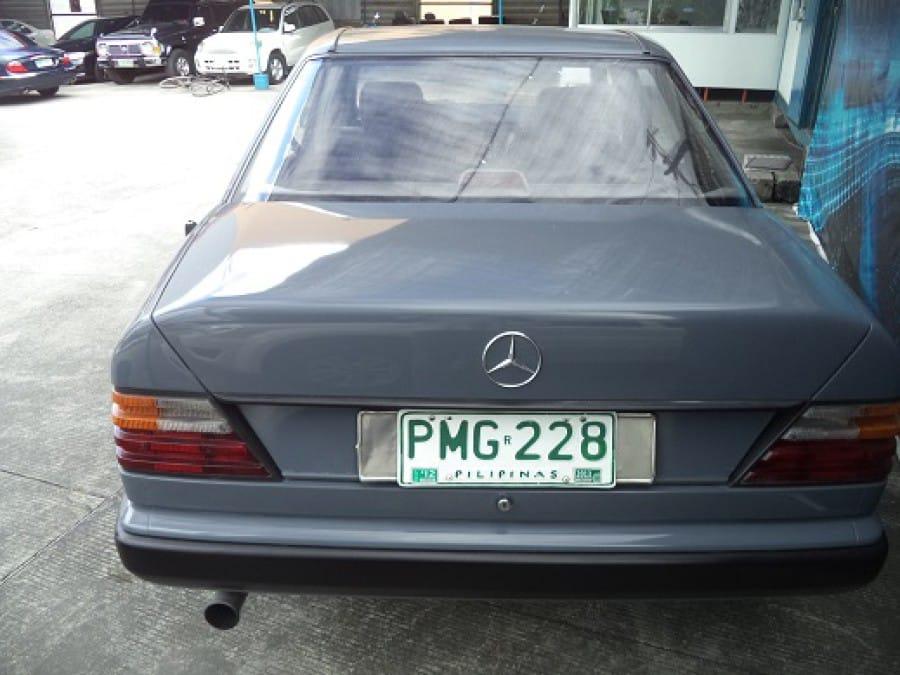 1986 Mercedes-Benz E230 - Rear View