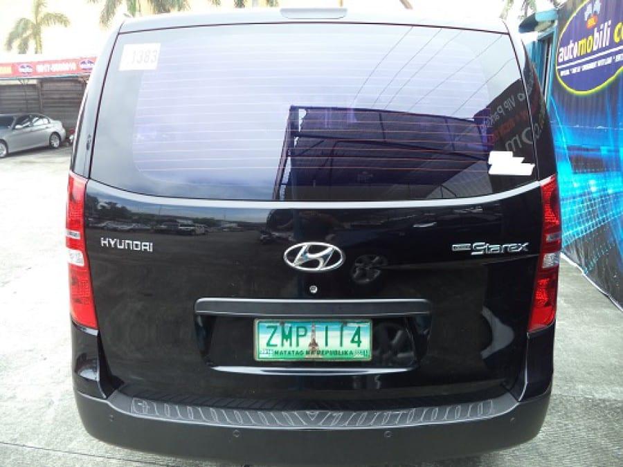 2008 Hyundai Starex - Rear View