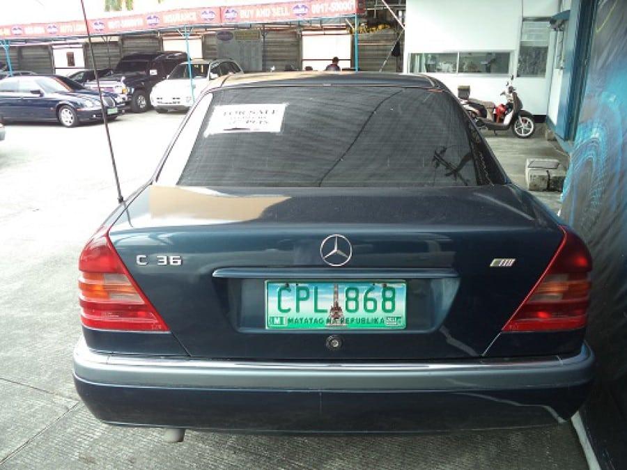 1986 Mercedes-Benz C36 - Rear View