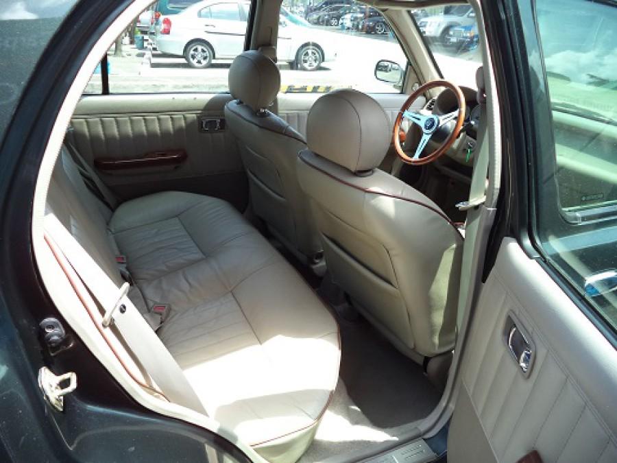 2001 Nissan Versa - Interior Rear View