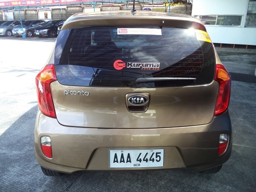 2014 Kia Picanto - Rear View