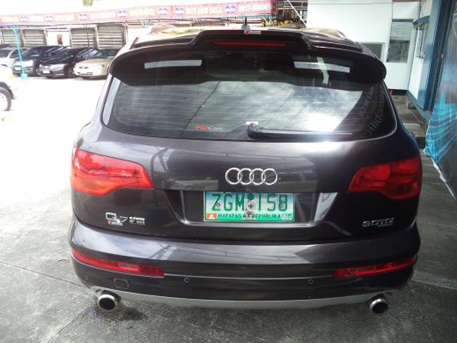 2007 Audi Q7 - Rear View
